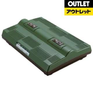 【アウトレット品】 タタキ&振動フットマッサージャー グリーン EM-2563GR 【生産完了品】