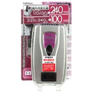 変圧器 (ダウントランス)(110-130V/220-240V⇒100V・容量240/100W) WT-73M
