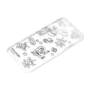 iPhone 6s/6用 ハードケース クリア金箔押し ディズニー・トイストーリー PG-DCS030