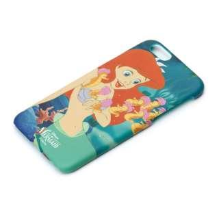 iPhone 6s/6用 ハードケース ラバーコート ディズニー・アリエル PG-DCS024