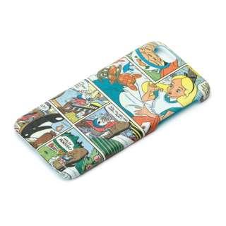 iPhone 6s/6用 ハードケース ラバーコート ディズニー・アリス PG-DCS023