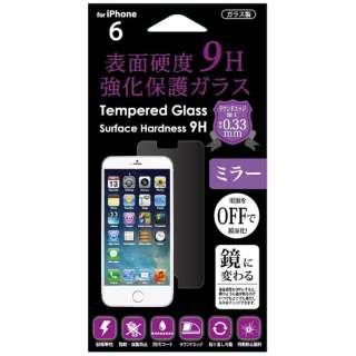 iPhone 6s/6用 9H強化保護ガラスミラー CFi6S-TG9MR