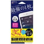 iPhone 6s/6用 ハイブリッドガラスフィルム クリア Hi6S-GCL