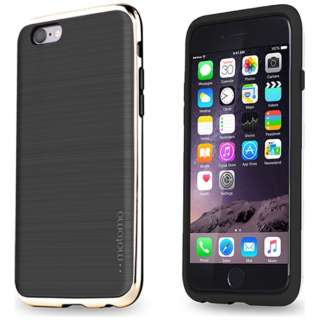 iPhone 6s/6用 INO LINE INFINITY STONE BLACK クロームゴールド INO-SBCG