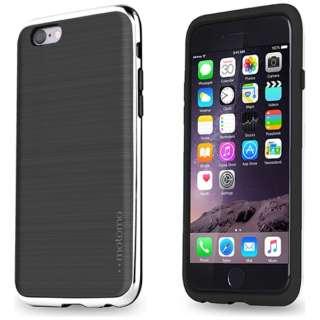 iPhone 6s/6用 INO LINE INFINITY STONE BLACK クロームシルバー INO-SBCS