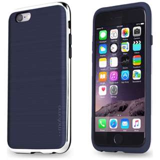 iPhone 6s/6用 INO LINE INFINITY ROYAL INDIGO クロームシルバー INO-RICS