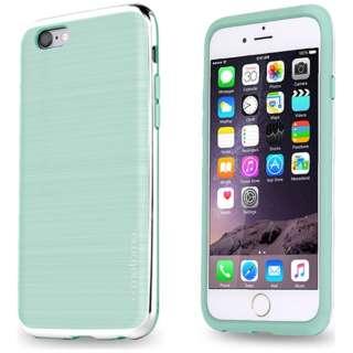 iPhone 6s/6用 INO LINE INFINITY AQUA MINT クロームシルバー INF-AMCS