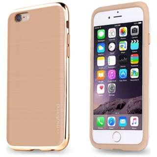iPhone 6s/6用 INO LINE INFINITY WARM BEIGE クロームゴールド INF-BCG