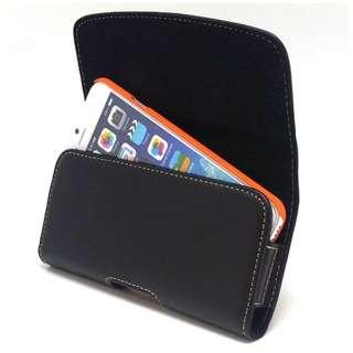 iPhone 6s/6用 カバー付スマホ収納ホルダー ヨコ型 SH-IP8PH