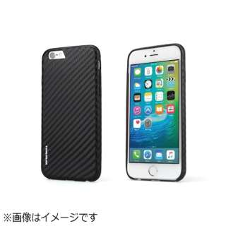 iPhone 6s/6用 CarbonLook ブラック TUN-PH-000407