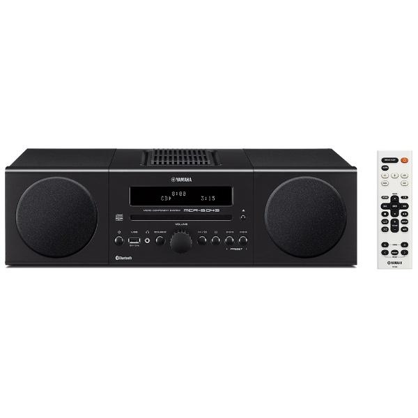 ヤマハ ワイドFM対応Bluetooth対応 ミニコンポブラック MCR-B043 B