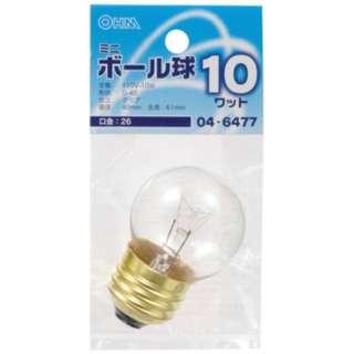 LB-G4610-C 電球 ミニボール球 クリア [E26 /電球色 /1個 /ボール電球形]