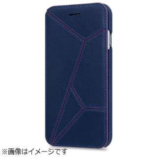 iPhone 6s/6用 手帳型 EVASION Diary ネイビー STI: L ST6995iP6S