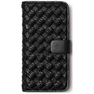 iPhone 6s/6用 手帳型 Mesh Diary ブラック ZENUS Z9436i6S