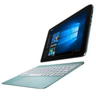 T100HA-BLUE ノートパソコン TransBook アクアブルー [10.1型 /intel Atom /eMMC:64GB /メモリ:2GB /2015年9月モデル]
