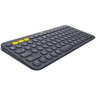 キーボード マルチデバイス ブラック K380BK [Bluetooth /ワイヤレス]