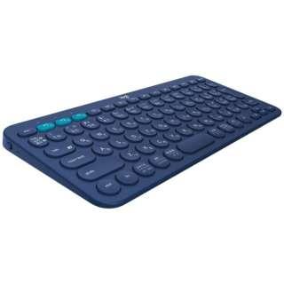 キーボード マルチデバイス ブルー K380BL [Bluetooth /ワイヤレス]