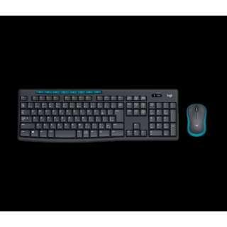 MK275 ワイヤレスキーボード・マウス Wireless Combo ブラック [USB /ワイヤレス ]
