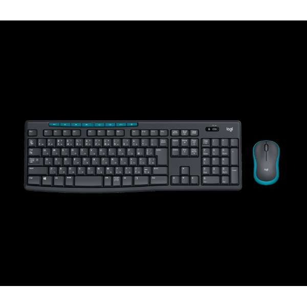 キーボード・マウス Wireless Combo ブラック MK275 [USB /ワイヤレス ]