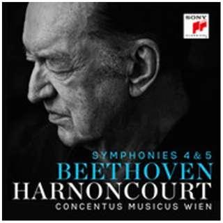 ニコラウス・アーノンクール(cond)/ベートーヴェン:交響曲第4番&第5番「運命」 【CD】