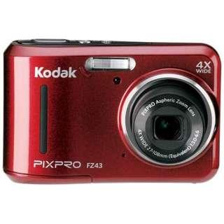 FZ43 コンパクトデジタルカメラ PIXPRO レッド