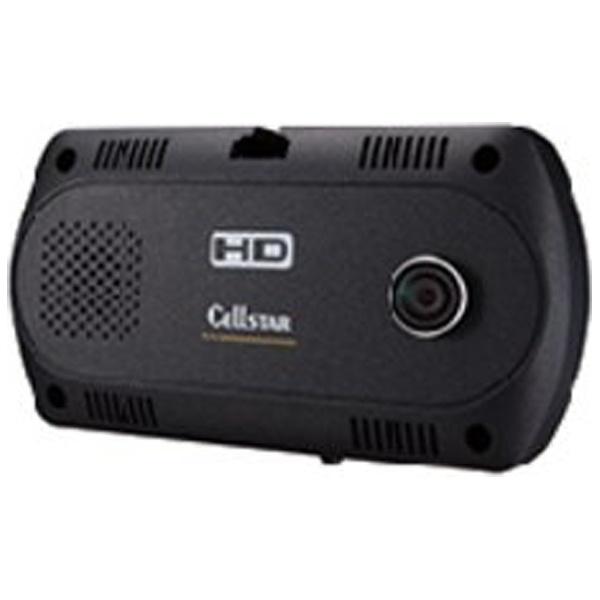 CELLSTAR ドライブレコーダー 日本製3年保証 一体型前後カメラ 衝撃センサー搭載 CSD-390HD ドライブレコーダー