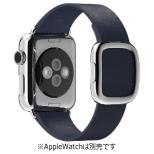 Apple Watch 38mm 用交換バンド ミッドナイトブルーモダンバックル - M MJ5C2FE/A