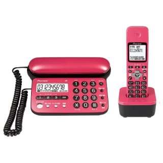 TF-SD15S 電話機 チェリーピンク [子機1台 /コードレス]