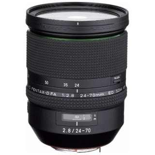カメラレンズ HD PENTAX-D FA 24-70mmF2.8ED SDM WR ブラック [ペンタックスK /ズームレンズ]