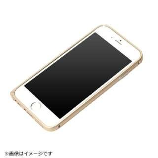 iPhone 6s/6用 アルミバンパー ゴールド PG-I6SBP02GD