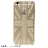 iPhone 6s/6用 ソフトTPUケース クリア ユニオンジャック OWL-CVIP604UJ-CL