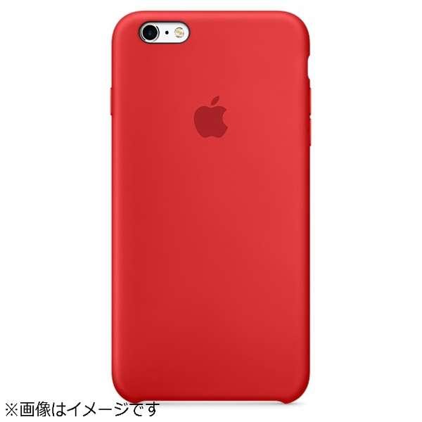 【純正】 iPhone 6s Plus/6 Plus用 シリコーンケース PRODUCT レッド MKXM2FEA