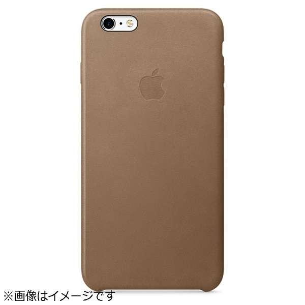 【純正】 iPhone 6s Plus/6 Plus用 レザーケース ブラウン MKX92FEA
