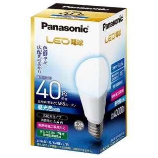 LDA4D-G/K40E/S/W LED電球 ホワイト [E26 /昼光色 /1個 /40W相当 /一般電球形 /広配光タイプ]