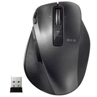 M-XGM20DLBK マウス M-XGM20DLシリーズ Mサイズ ブラック  [レーザー /8ボタン /USB /無線(ワイヤレス)]
