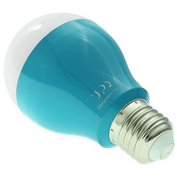 Bluetooth対応 スマート電球 「Q-home BB01 BG ブルー・バイ・グリーン」(500lm) QBLB001