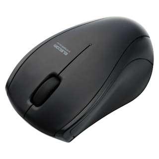 M-BT15BRSBK マウス M-BT15BRSシリーズ ブラック  [IR LED /3ボタン /Bluetooth /無線(ワイヤレス)]