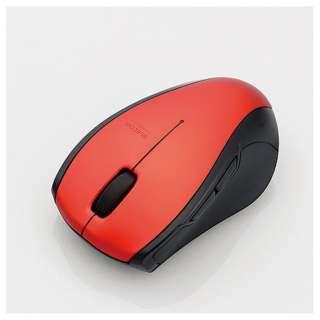 M-BT16BBSRD マウス M-BT16BBSシリーズ レッド  [BlueLED /5ボタン /Bluetooth /無線(ワイヤレス)]