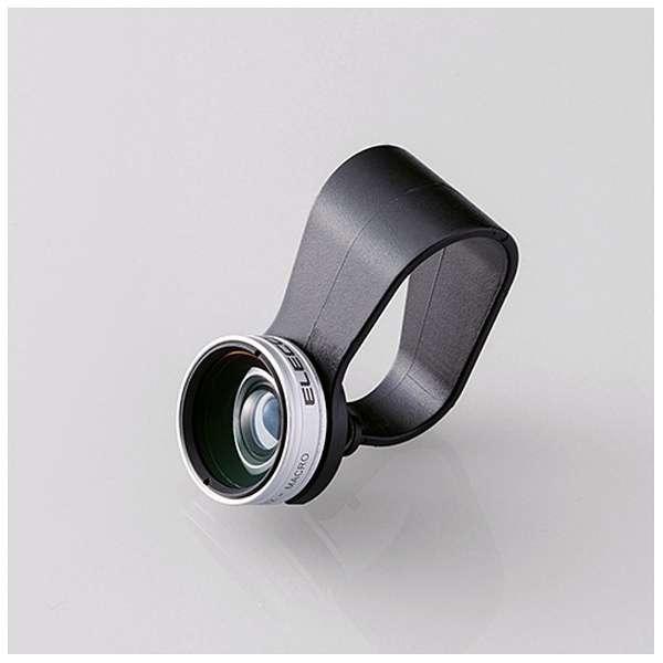 セルカレンズ 0.67倍広角レンズ マクロレンズ付 シルバー PSL067SV