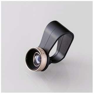 セルカレンズ 0.67倍広角レンズ マクロレンズ付 ゴールド PSL067GD