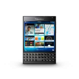Passport BLACK ブラック 「PRD-59182-065」 BlackBerry 4.5型・メモリ/ストレージ: 3GB/32GB nanoSIMx1 ドコモ/ソフトバンクSIM対応 SIMフリースマートフォン
