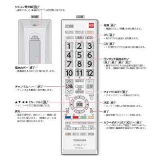 純正テレビ用リモコン CT-90421E【部品番号:75030227】