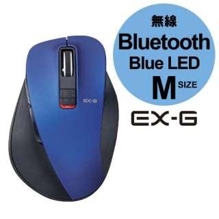 M-XGM10BBBU マウス M-XGM10BBシリーズ Mサイズ ブルー  [BlueLED /5ボタン /Bluetooth /無線(ワイヤレス)]