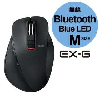 M-XGM10BBBK マウス M-XGM10BBシリーズ Mサイズ ブラック  [BlueLED /5ボタン /Bluetooth /無線(ワイヤレス)]