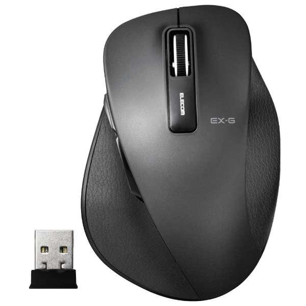 マウス EX-G Sサイズ ブラック M-XGS10DBBK [BlueLED /無線(ワイヤレス) /5ボタン /USB]