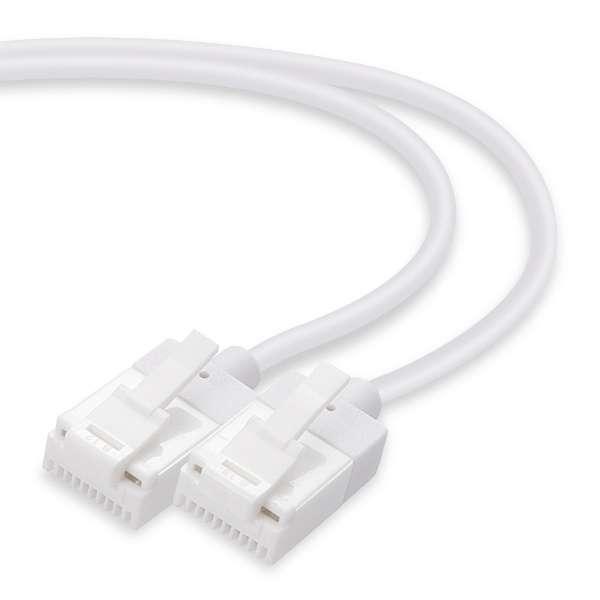 LD-GPSST/WH10 LANケーブル ホワイト [1m /カテゴリー6 /スリム]