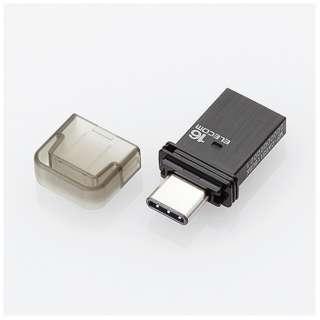 MF-CAU3116GBK USBメモリ MF-CAU31BKシリーズ ブラック [16GB /USB3.1 /USB TypeA+USB TypeC /キャップ式]