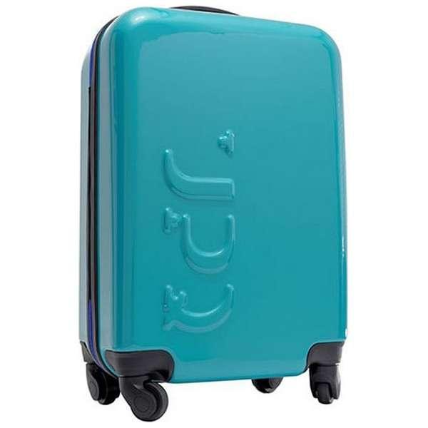 12000mAhモバイルバッテリー搭載スーツケース ブルージッパー UPQ-BAG-TR01-BL [TSAロック搭載]