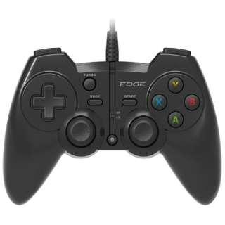 EGJ-301BK ゲームパッド EDGE BLACK [USB /Windows /13ボタン]