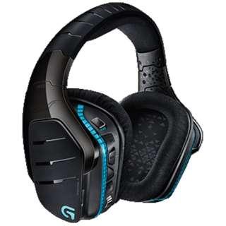 G933 ゲーミングヘッドセット ブラック [ワイヤレス(USB)+有線 /両耳 /ヘッドバンドタイプ]
